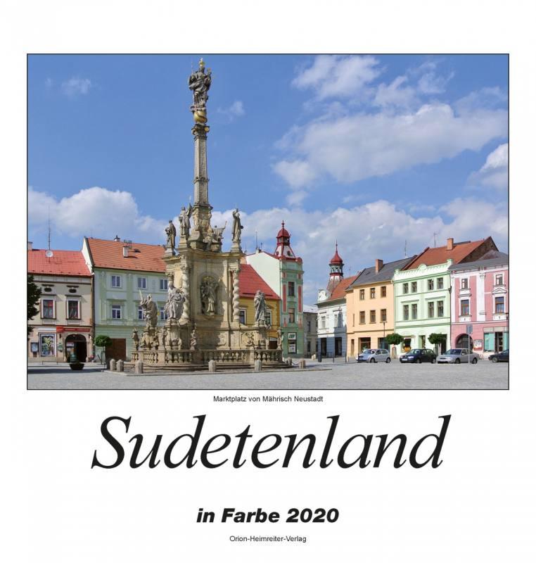 Sudetenland in Farbe 2019 Farbkalender
